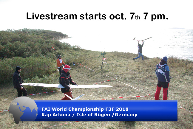 Livestream | 2018 FAI F3F World Championship for Model Gliders